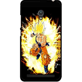 Snooky Printed Angry Man Mobile Back Cover For Asus Zenfone 5 - Multicolour