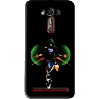 Snooky Printed Hero Mobile Back Cover For Asus Zenfone Laser - Multi