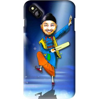 Snooky Printed Balle balle Mobile Back Cover For Micromax Bolt D303 - Multi
