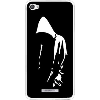 Snooky Printed Thinking Man Mobile Back Cover For Micromax Canvas Hue 2 - Multi