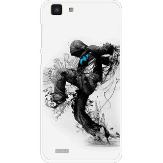 Snooky Printed Enjoying Life Mobile Back Cover For Vivo Y27L - Multi