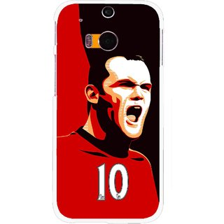 Snooky Printed Sports ManShip Mobile Back Cover For HTC One M8 - Multicolour