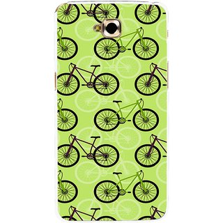 Snooky Printed Cycle Mobile Back Cover For Lg G Pro Lite - Green