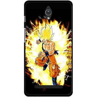 Snooky Printed Angry Man Mobile Back Cover For Asus Zenfone C - Multicolour