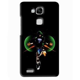Snooky Printed Hero Mobile Back Cover For Huawei Ascend Mate 7 - Multi