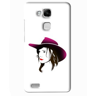 Snooky Printed Tom Boy Mobile Back Cover For Huawei Ascend Mate 7 - Multi