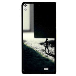 Snooky Printed God Door Mobile Back Cover For Gionee Elife S5.1 - Multi