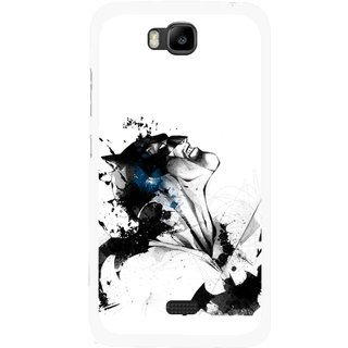 Snooky Printed Super Hero Mobile Back Cover For Huawei Honor Bee - Multicolour