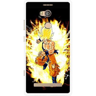 Snooky Printed Angry Man Mobile Back Cover For Gionee Elife E8 - Multicolour
