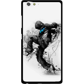 Snooky Printed Enjoying Life Mobile Back Cover For Gionee Elife S6 - Multi