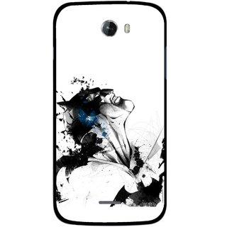 Snooky Printed Super Hero Mobile Back Cover For Micromax Bolt A068 - Multicolour