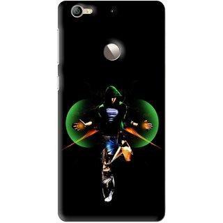 Snooky Printed Hero Mobile Back Cover For Letv Le 1S - Multi