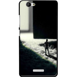 Snooky Printed God Door Mobile Back Cover For Gionee M2 - Multi
