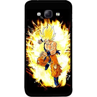 Snooky Printed Angry Man Mobile Back Cover For Samsung Galaxy A8 - Multicolour