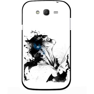 Snooky Printed Super Hero Mobile Back Cover For Samsung Galaxy Grand I9082 - Multicolour