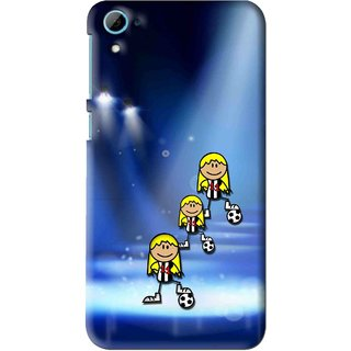 Snooky Printed Girls On Top Mobile Back Cover For HTC Desire 826 - Multi