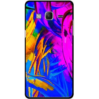 Snooky Printed Color Bushes Mobile Back Cover For Samsung Tizen Z3 - Multicolour