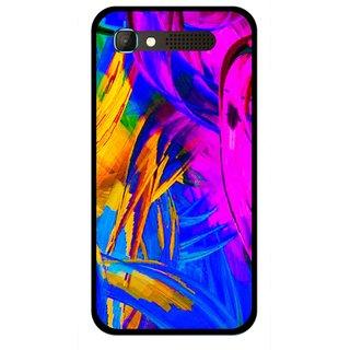 Snooky Printed Color Bushes Mobile Back Cover For Intex Aqua Y2 Pro - Multicolour