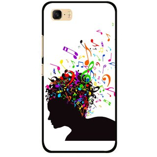 Snooky Printed Music Lover Mobile Back Cover For Asus Zenfone 3s Max ZC521TL - Multi