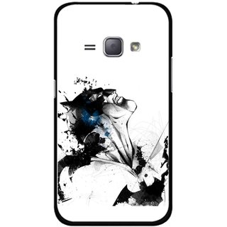 Snooky Printed Super Hero Mobile Back Cover For Samsung Galaxy J1 - Multicolour