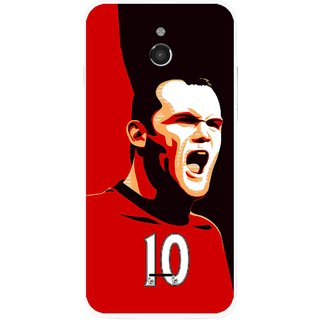 Snooky Printed Sports ManShip Mobile Back Cover For Infocus M2 - Multicolour