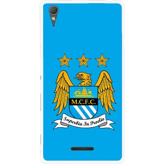Snooky Printed Eagle Logo Mobile Back Cover For Sony Xperia T3 - Multicolour