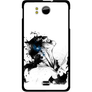 Snooky Printed Super Hero Mobile Back Cover For Micromax Canvas DOODLE A111 - Multicolour