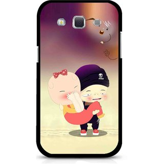 Snooky Printed Friendship Mobile Back Cover For Samsung Galaxy 8552 - Multicolour