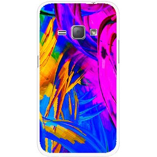 Snooky Printed Color Bushes Mobile Back Cover For Samsung Galaxy J1 - Multicolour