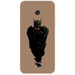 Snooky Printed Hiding Man Mobile Back Cover For Infocus M2 - Multicolour