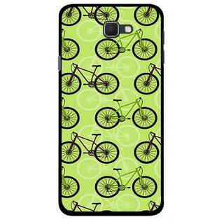 Snooky Printed Cycle Mobile Back Cover For Samsung Galaxy J5 Prime - Multicolour