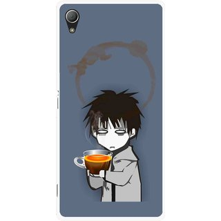 Snooky Printed Need Rest Mobile Back Cover For Sony Xperia Z3 Plus - Multi