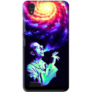Snooky Printed Universe Mobile Back Cover For Lenovo A3900 - Multi