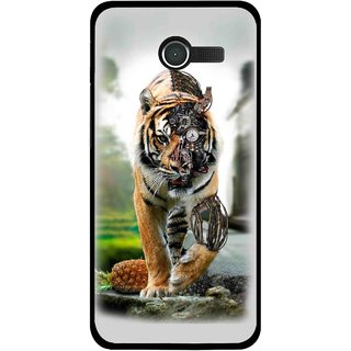 Snooky Printed Mechanical Lion Mobile Back Cover For Asus Zenfone 4 - Multicolour