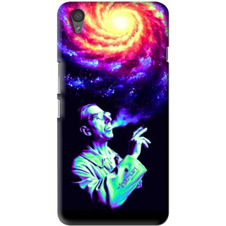 Snooky Printed Universe Mobile Back Cover For One Plus X - Multi
