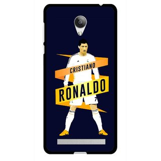 Snooky Printed Ronaldo Mobile Back Cover For Vivo Y28 - Multicolour