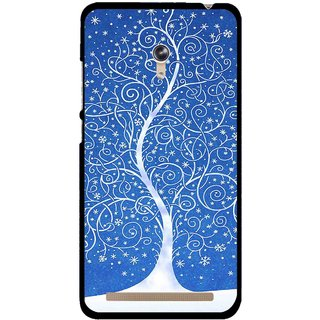 Snooky Printed Wish Tree Mobile Back Cover For Asus Zenfone 6 - Multicolour