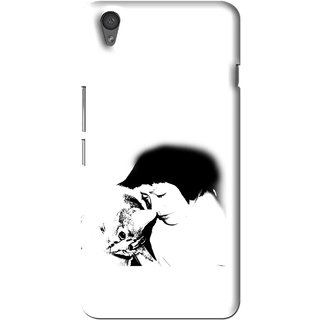 Snooky Printed Pet Lover Mobile Back Cover For One Plus X - Multi