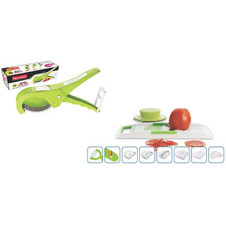 Multi Veg. Cut ABS (5 Laser Blade, 45mm) WITH  V Slicer (8 In 1) ABS