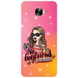 Snooky Printed No Boyfriend Mobile Back Cover For Letv Le 2 - Multicolour