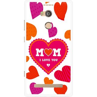 Snooky Printed Mom Mobile Back Cover For Gionee Elife E8 - Multicolour