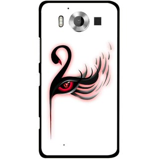 Snooky Printed Eye Art Mobile Back Cover For Microsoft Lumia 950 - Multicolour