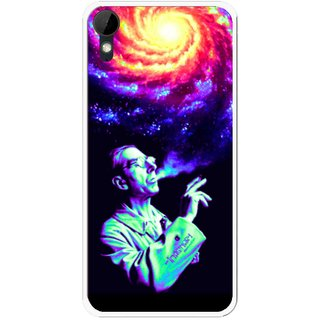 Snooky Printed Universe Mobile Back Cover For HTC Desire 825 - Multi