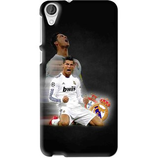 Snooky Printed Football Champion Mobile Back Cover For HTC Desire 626 - Multi