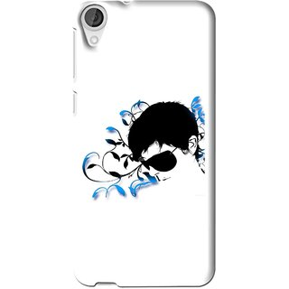 Snooky Printed Stylo Man Mobile Back Cover For HTC Desire 626 - Multi