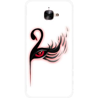 Snooky Printed Eye Art Mobile Back Cover For Letv Le 2 - Multicolour
