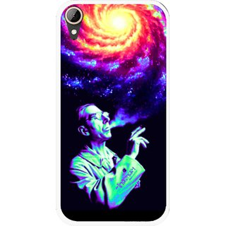 Snooky Printed Universe Mobile Back Cover For HTC Desire 830 - Multi