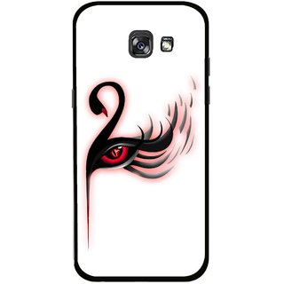 Snooky Printed Eye Art Mobile Back Cover For Samsung Galaxy A5 (2017) - Multicolour