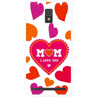 Snooky Printed Mom Mobile Back Cover For Lenovo A6600 - Multicolour