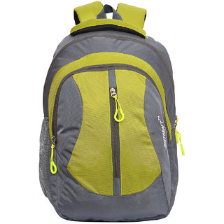 Flora Grey P Green Backpack
